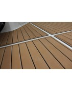 Lightweight and durable marine decking